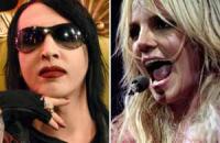 Marilyn Manson y Britney Spears